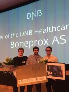 Helse-Norge støtter unge gründere, DNB med på laget med 1 million!