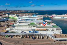 Tallink Silja: Übersicht der temporären Routen