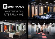 """Ekstrands nya utställning av dörrar & fönster med integrerat """"hybrid""""-kontor"""