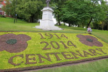 World War One floral display an award-winner
