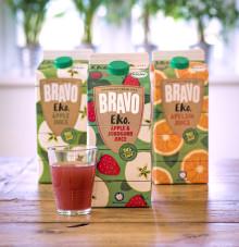 Populära Bravo Eko - nu med äpple & jordgubb-smak!