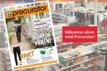 Stor vårkampanj i Procurators butiker och webbutik