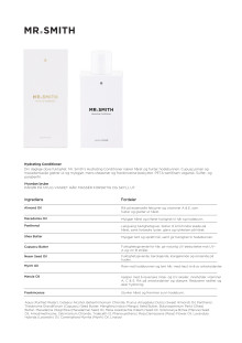 Mr smith Produktinfo Hydrating Conditioner