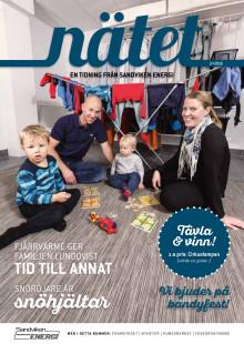 Nätet - en tidning från Sandviken Energi, nummer 2 år 2016