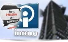 Induo nominerade till Årets Pressrum 2012