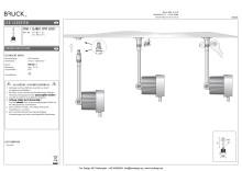 Produktblad Bruck Star Clareo LED51 snabbkoppling som pdf.