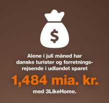 Danske turister roamer løs på sommerferien