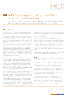 GATCLIQUID: Analysis of circulating tumour DNA for cancer detection and monitoring