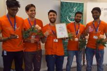 Team från universitet i Luleå vinner affärstävlingen ActinSpace och representerar Sverige i finalen