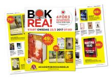 Bokrean 2017 – Sveriges största bokfest närmar sig!