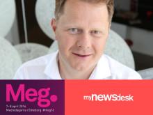 Mynewsdesk är stolt programpartner till MEG16