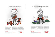 Annonskampanj för Hjärtebarnsfonden