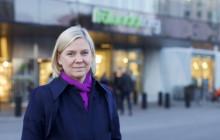Finansminister på besök i Frölunda Torg
