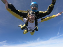 Dad and daughter take to the skies to raise money for children's hospices