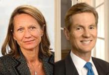 Gunnar Brock och Christine von Sydow till SOS-Barnbyars styrelse
