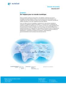 Eutelsat Dossier de presse - Décembre 2017