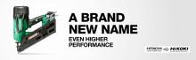 Nå storsatser Hitachis verktøydivisjon under nytt varemerke!