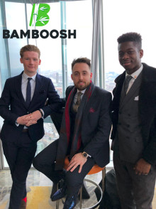 Bamboosh attend rising star workshop in London's exclusive venue, The Shard