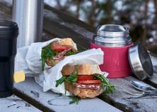 Picknick i pulkabacken