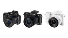 Först i världen: Samsung lanserar kompakta systemkameror med wifi
