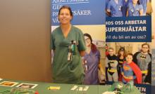Framtidens sjuksköterskor lyfte viktiga ämnen under sjuksköterskedag