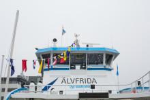 Nu är Västtrafiks nya båtar i trafik