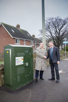 Whitburn goes superfast thanks to Digital Durham