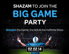 Shazam Announces Big Game Experience – Watch Exclusive Bruno Mars Tour Video, Download Exclusive Music, Replay and Share All Ads, Interact with Timeline of Key Moments