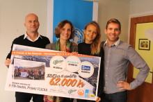 Bestigning av Kebnekaise ger 62 000 kr till FN-projekt Flicka