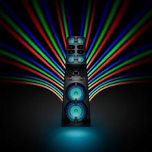 ¡La torre de alta potencia!  Sony trae un nuevo sistema de audio de alta potencia
