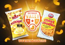 Estrella låter svenska folkets smak avgöra ostbågsvalet