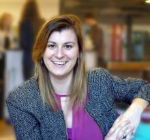 Sara Magnusson - blivande civilingenjör från LiU som fått stipendium från MIT för workshop i Guatemala