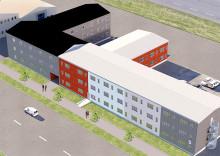 Öresundsporten hyr ut och bygger en  attraktiv miljö på Skarpskyttevägen i Lund