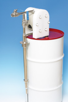 Closed pump system gives cleaner and safer work environment - pump and mixer in one