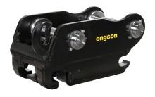 Engcon siirtyy käyttämään vain itse kehittämäänsä turvallista työlaitekiinnikettä