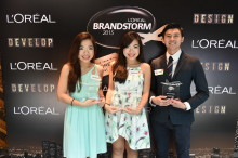 Nanyang Technological University's Team Kryptonite Picked as  L'Oréal Singapore's Brandstorm 2015 Competition Winners