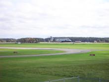 Hovby flygplats blir ett skyddsobjekt 1 juli 2018