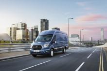 Ford med verdenspremiere på nye 2-tonns Transit