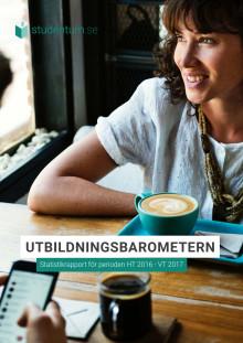 UtbildningsBarometern 2017 - Studentums statistikrapport för perioden HT 16-VT 17