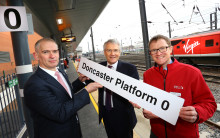Launch of new services and platform at Doncaster station