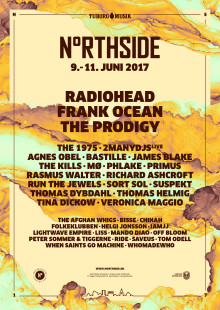​Here is this year's NorthSide poster