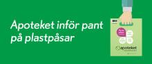 Nu kan Apotekets plastpåsar pantas med hjälp av en mobilapp