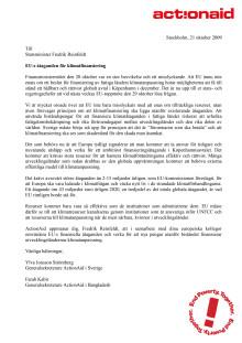 Öppet brev till Fredrik Reinfeldt