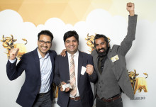 Indian Street Food & Co i Stockholm vinnare i Arla Guldko 2015 Bästa Snabbmål