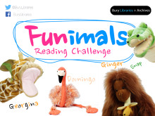 Bury Libraries' Funimals reading challenge is back for summer