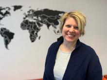Ny på jobbet: Sandra hjälper företag och föreningar att resa