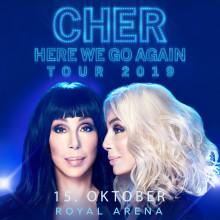 """Den legendariske superstjerne CHER kommer til København 15. oktober med sin """"Here We Go Again Tour"""""""