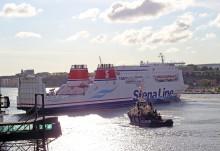 Stena Jutlandica till varv i Danmark