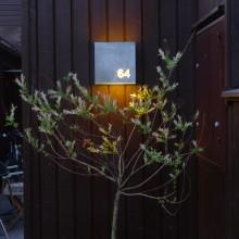 """Fox Design har levererat utomhusbelysning till kedjehusen """"Västra Johannelund""""."""