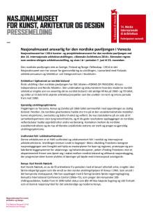 Pressemelding i pdf-format
